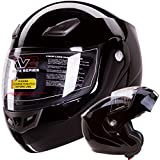 IV2 Bluetooth Compatible Modular Flip up Motorcycle Helmet...