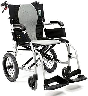 Karman Healthcare S-2512 Ergo Flight Transport Ultra Lightweight Wheelchair Luxury Seat, 18