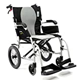 Karman Healthcare S-2512 Ergo Flight Transport Ultra Lightweight Wheelchair Luxury Seat, 18'