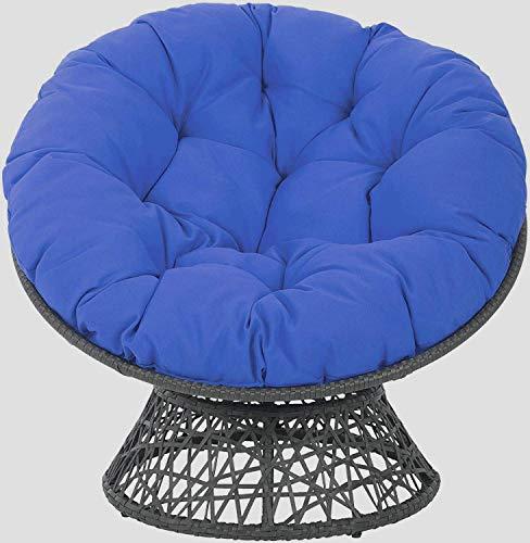 LNDDP Furniture Overstuffed Papasan Chair Cushion,tufted Swing Rattan Chair Cushion,round Cushion Thick Comfortable Oversized Papasan Pad