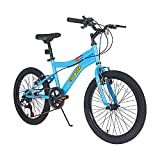 LPP Kids Mountain Bike 20 Inch 6 Speed Children Bicycle with Kickstand for Boys Girls 8-13 Years...