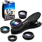 Phone Camera Lens 5 in1 Kit for iPhone...