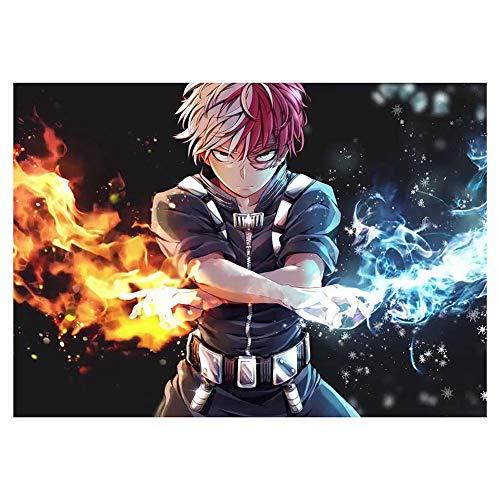 six-day Anime My Hero Academia Poster à suspendre pour décoration murale de la maison (H02)