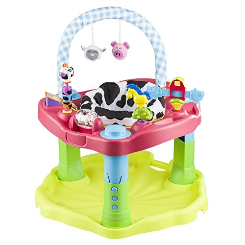 New Evenflo Exersaucer Moovin & Groovin Activity Center