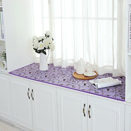 XMZDDZ Dik Erker-kussen, bekleding zit-sil-pad, vensterbank, mat, sofa-mat, tapijt, boek, tatami-matten, antislip 70x210cm(28x83inch) G
