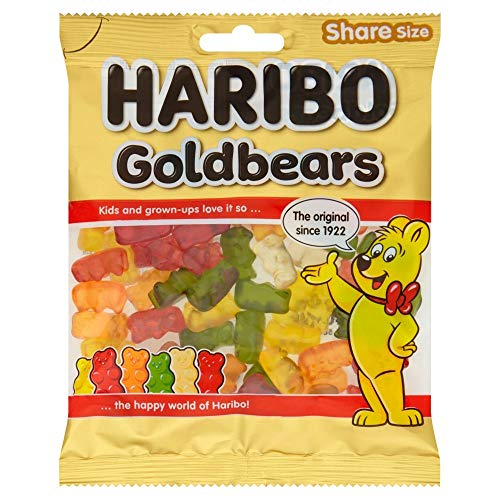 Haribo Goldbears Share Size Bag Pouch, 140 g