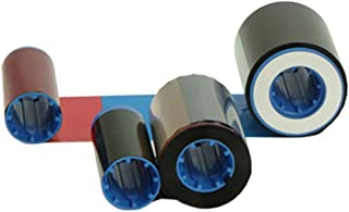 Zebra Technologies 800012-445 YMCK True Colors I Series Color 4 Panel Ribbon, ZXP Series 8 Compatible,625 Labels per Roll