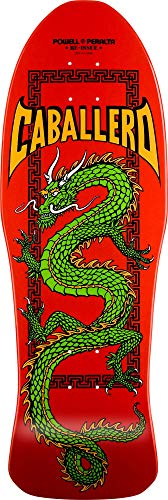 Powell Peralta Caballero Chinese Dragon Red Skateboard Deck
