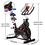 Zoom IMG-2 onetwofit cyclette casa indoor con