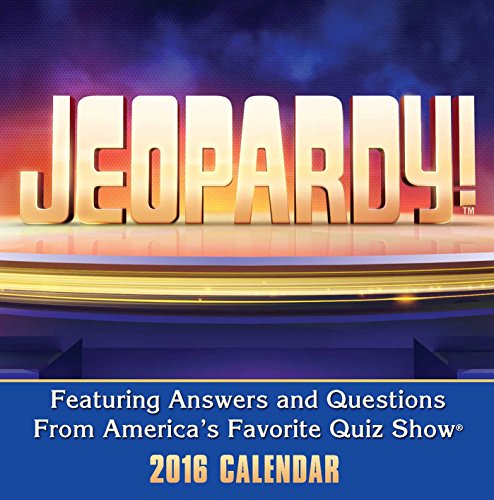 Jeopardy! 2016 Day-to-Day Calendar