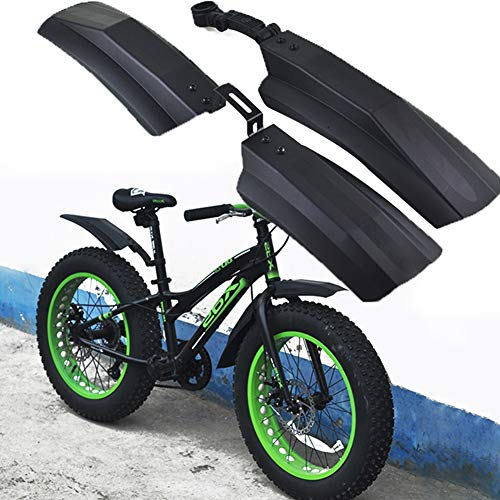 Guardabarros MTB 20 pulgadas 26 pulgadas eléctrica plegable bicicleta barro de la bicicleta de nieve bicicleta de la bicicleta de la bicicleta de la bicicleta Fender MTB Bike Ciclismo Fenders Piezas G