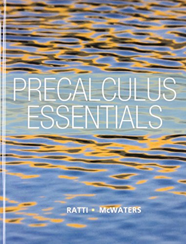 Precalculus Essentials plus NEW MyLab Math with Pearson eText -- Access Card Package (Ratti/McWaters Series)