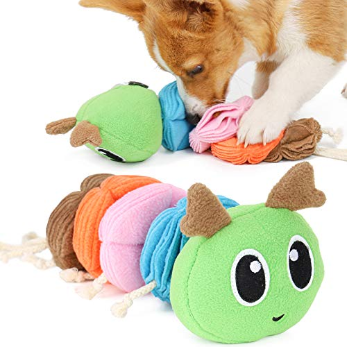 NCONCO Perro Snuffling Juguete de peluche Squeaky Toy Pet Treats Dispensing Toy Dog Nosework Training Toy