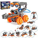 Hot Bee Stem Projects, 11 in 1 Solar Robot Kit, Education Experiment Science Kits for Boys 8-12, Toys Gifts for 8 9 10 11 12 Year Old Boys Girls