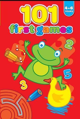 101 primi giochi. 4-6 anni. Rosso (Gli educativi)