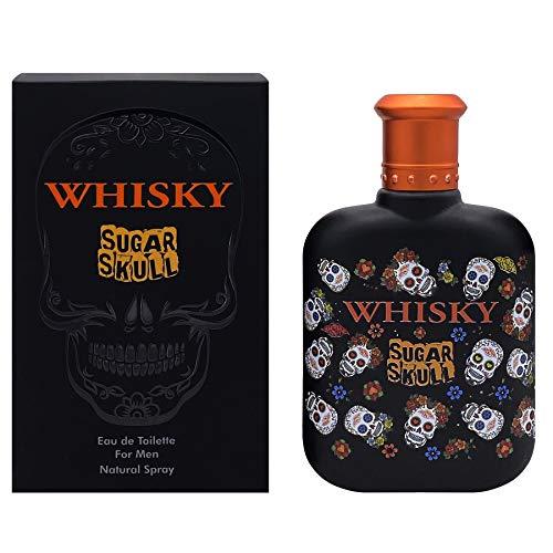 EVAFLORPARIS WHISKY SUGAR SKULL Eau de Toilette 100 ml Perfume Spray Men Perfume, 520 g