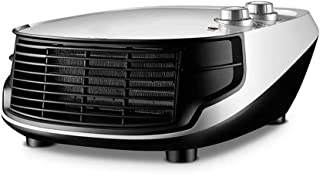 ZUOANCHEN Calentador Eléctrico Montado En La Pared/Calentador De Ventilador De Cerámica Oscilación Automática, Calor Y Frío Configuraciones
