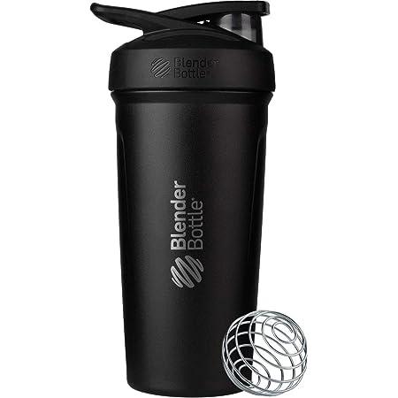 20-Ounce Pebble Grey BlenderBottle Mantra Glass Shaker Bottle
