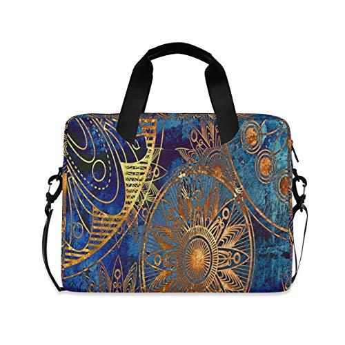 Laptop Bag, Vintage Wallpaper Laptop Backpack, Slim 16 Inch Briefcase Shoulder Bag Laptop Case