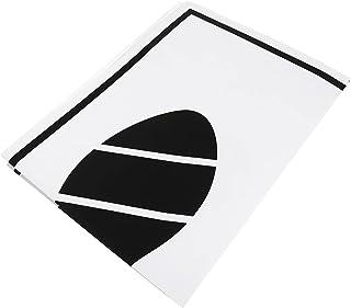 FAVOMOTO 50 peças de tapetes de papel premium descartáveis, materiais simples para carro