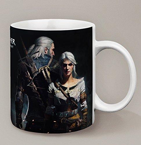 Kanto Factory Kaffeebecher, The Witcher 3: Wild Hunt Ciri und Geralt