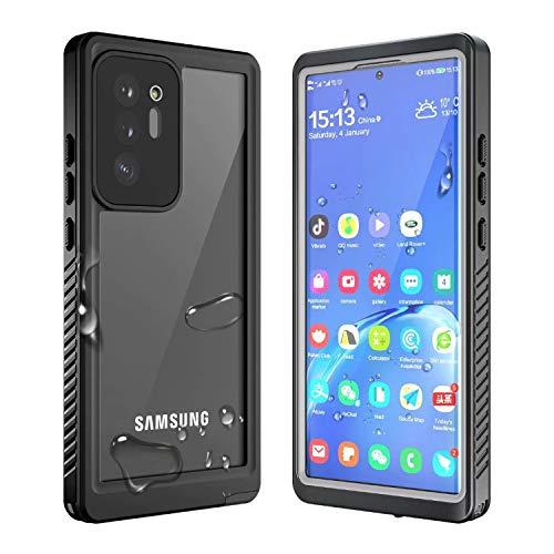 FHZXHY - Carcasa para Samsung Galaxy Note 20 Ultra 5G (impermeable, protector de pantalla integrado, resistente al agua, anticaídas, sellado)