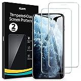ESR Verre Trempé Compatible avec iPhone 11 Pro Max et iPhone XS Max, 2 Pièces, Cadre de Repère...