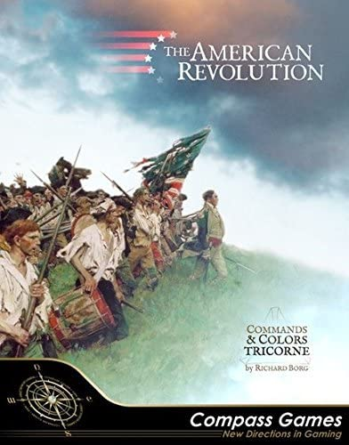 CPS the American Revolution aka Commands Colors Tricorne Grand Tactical Game of 12 Battles of product image