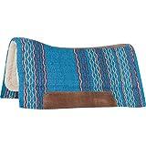 Cashel Performance Saddle Pad, Blanket Top, 34' X 36', Turquoise
