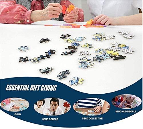 MX-XXUOUO Rompecabezas Green Tree Classic Puzzle para Adultos Grandes de madera-1000 Piezas