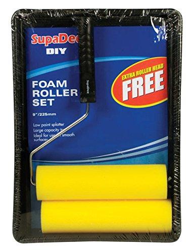 """SupaDec Foam Roller & Tray Set 9"""" / 255mm (507064)"""