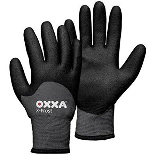 Oxxa 1 51 860 Handschuh X-Frost Größe 10 in grau/schwarz