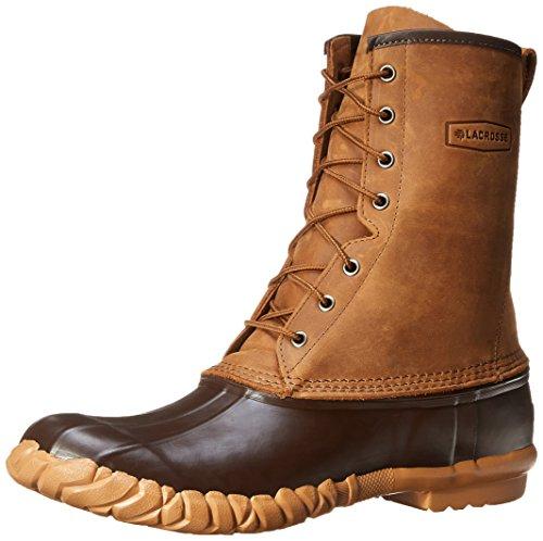LaCrosse Men's Uplander II 10-Inch Brown Snow Boot,Brown,14 M US