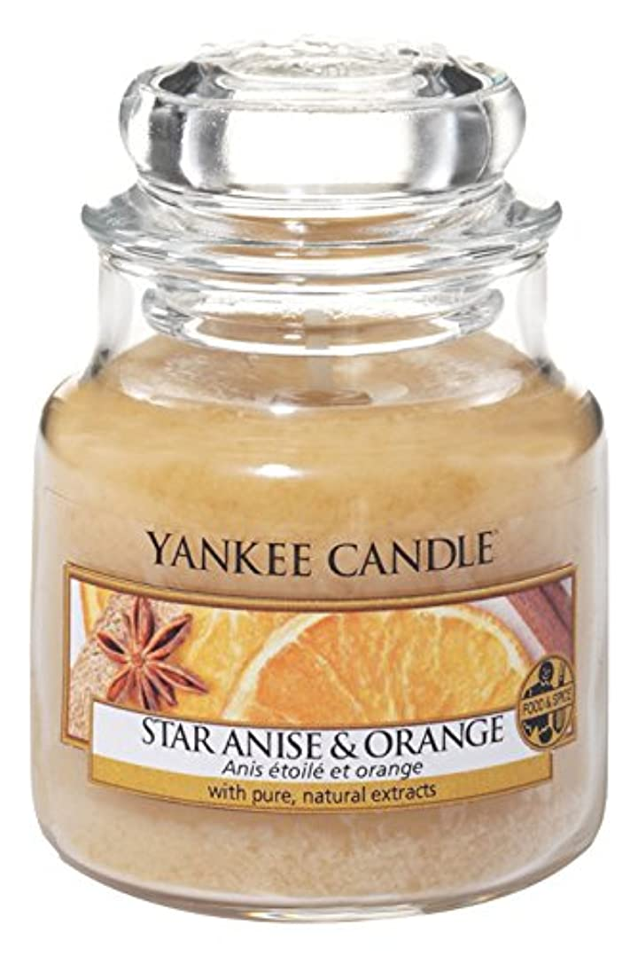 Yankee Candle Star Anise &オレンジSmall Jar Candle?–?UK Exclusive for Holiday 2016