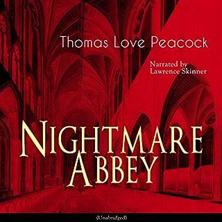 Nightmare Abbey audiobook cover art