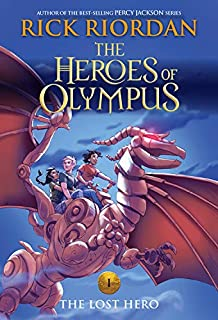 The Heroes of Olympus, Book One The Lost Hero (new cover)