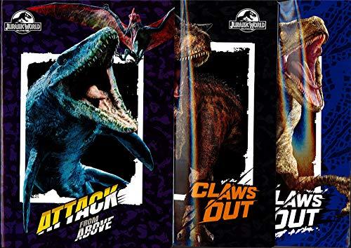 Maxi Heft Jurassic World 2019-2020 kariert 0,5 mm mit Rand 100 g. 21 x 29,7 cm. 1 Stück.