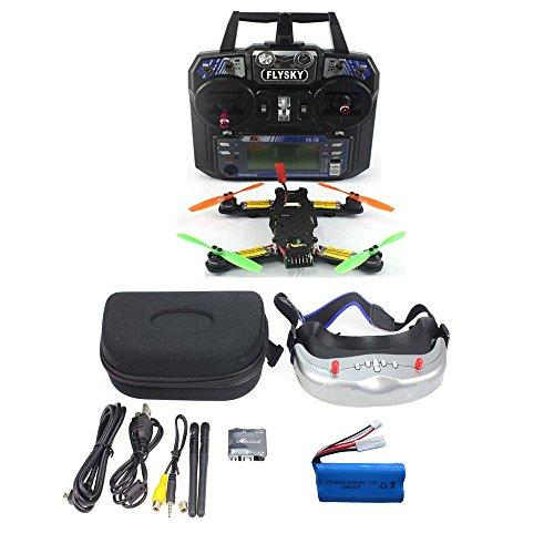 QWinOut FPV 2.4G 6CH RC Mini Racing Quadcopter Drone Tarot 130 PNF No Battery Full Set TL130H1 CC3D 520TVL HD Camera 5.8G 32CH Goggle