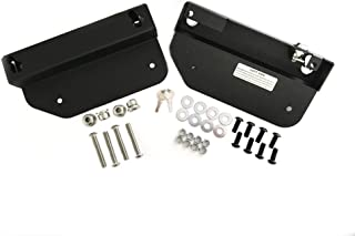 Easy Brackets Compatible With 2011 and later Yamaha Star Stryker with OEM quick detach backrest