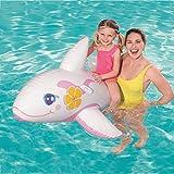 Tiburón Blanco Flotador Gigante Piscina, Verano natación Anillos, Agua Pool Float Juguetes inflables para niños, de natación Playa o baño Juguete