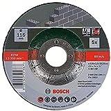 Bosch 2609256334 DIY Trennscheiben Stein 115 mm ø x 2.5 mm gekröpft