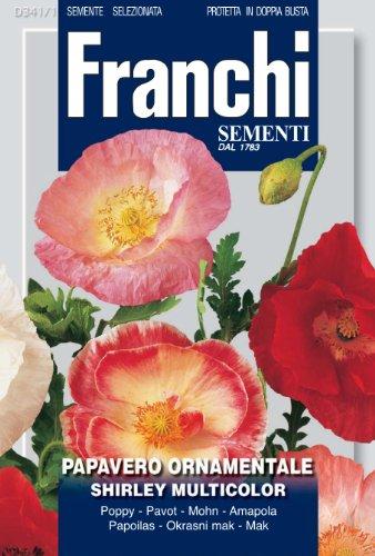 Seeds of Italy Ltd Franchi Shirley Pavot