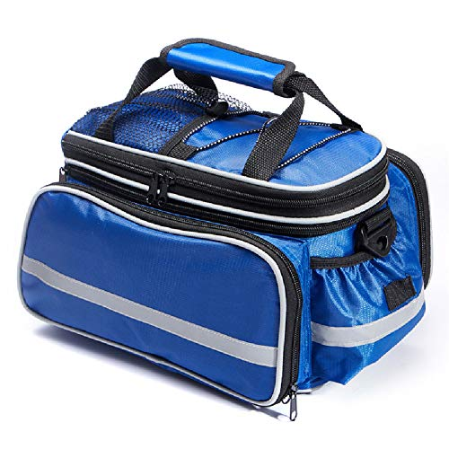For Sale! MTB Rear Shelf Bag-Long and Short-Distance Tote Bags with Large Capacity Waterproof Camel ...