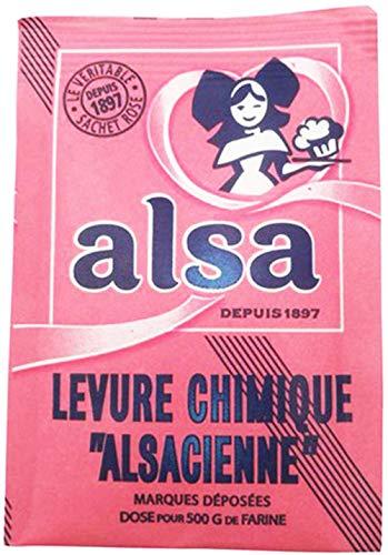 Alsa - French (Cake) Baking Powder 0.39 oz, 8 Count