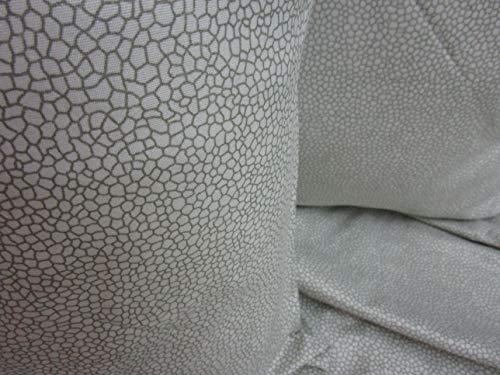 Pago Poco Bettwäsche-Set aus superweicher Mikrofaser, Design Borbonese für Doppelbett, für französisches Bett, Farbe: Grau, Beige Neuheit 2020!! ! Una Piazza e Mezza beige