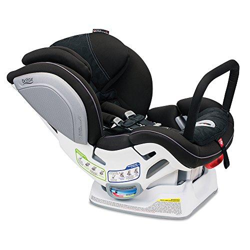 Britax Advocate ClickTight Anti-Rebound Bar Convertible Car Seat   3 Layer Impact Protection - Rear & Forward Facing - 5 to 65 Pounds, Circa