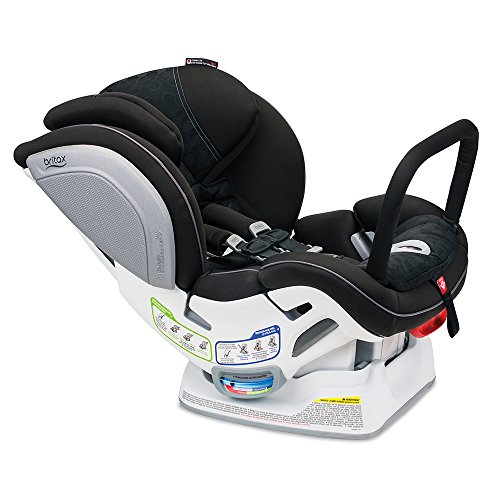 Britax Advocate ClickTight Anti-Rebound Bar Convertible Car Seat - 3 Layer Impact Protection - Rear and Forward Facing - 5 to 65 Pounds, Circa