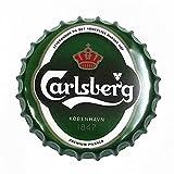 2 uds Tapa De Cerveza Carteles De Chapa De Metal Café Bar Pub Placa De Decoración De Pared Cartel De Arte para El Hogar Artesanía Vintage Recoger 13,8 Pulgadas