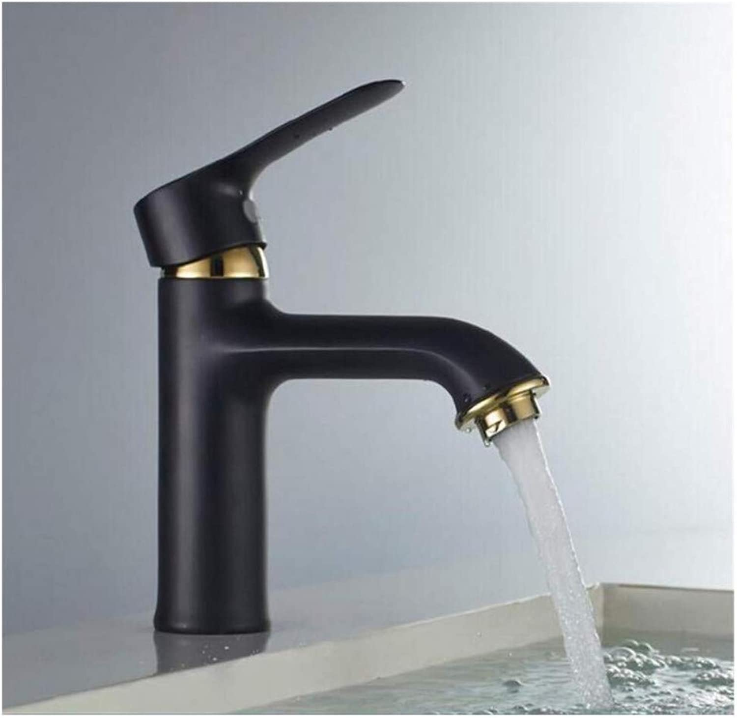 Chrome-Plated Adjustable Temperature-Sensitive Led Faucetfaucet Sinks Mixer Vanity Tap Cold and Hot Deck Mount Torneira