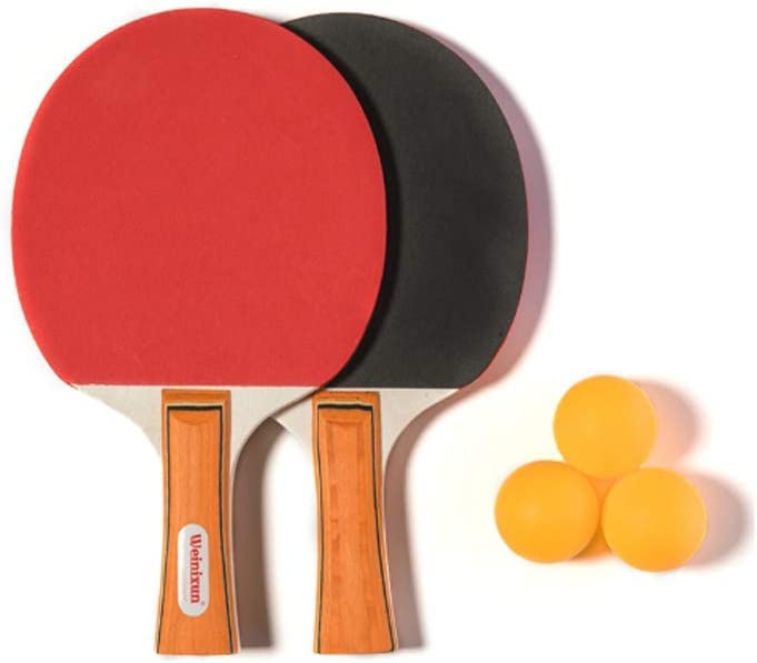 Holiberty Beginner Table Tennis Tabl Max 60% OFF Set Elegant Bat Paddle